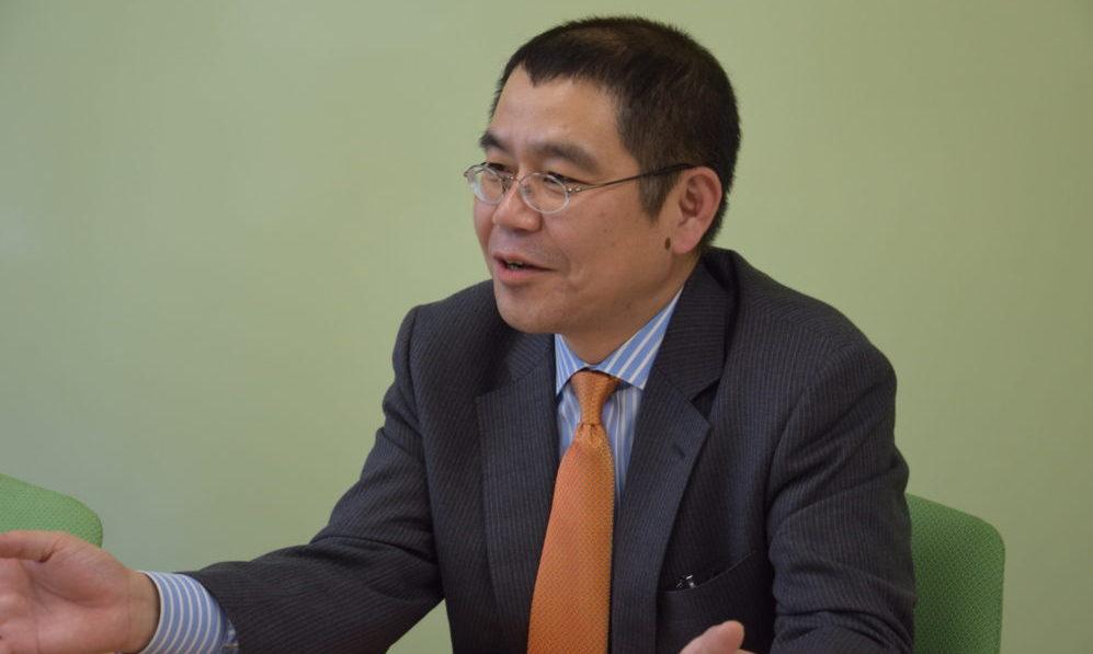 全社的なIT戦略、働き方改革等の方針について述べる鎌田吉昭様